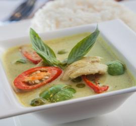 普吉岛精美泰式绿咖喱