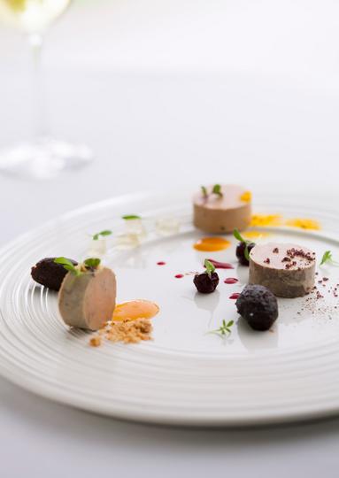 Foie gras at Metis