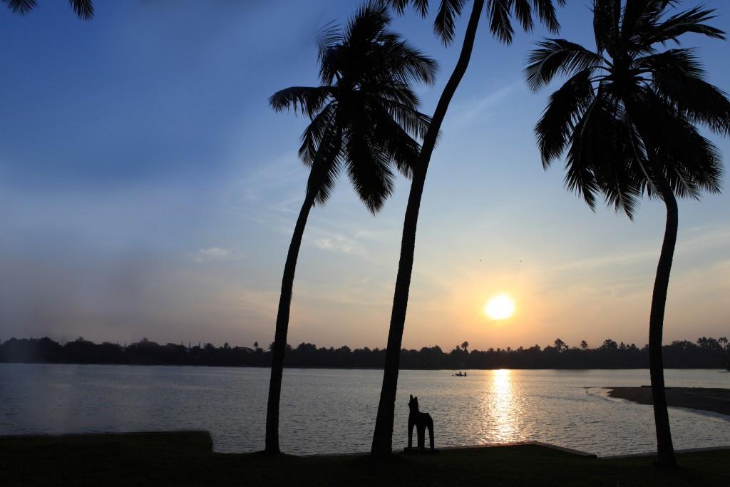 Sunrise in Sri Lanka