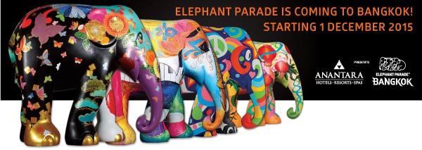 Bangkok Elephant Parade 2015