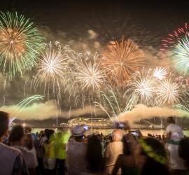 New Year's Fireworks in Copacabana II