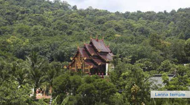 Lanna temple