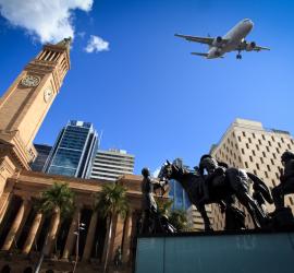 Brisbane city buildings