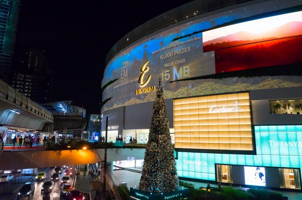 Emquartier Bangkok Luxury shopping