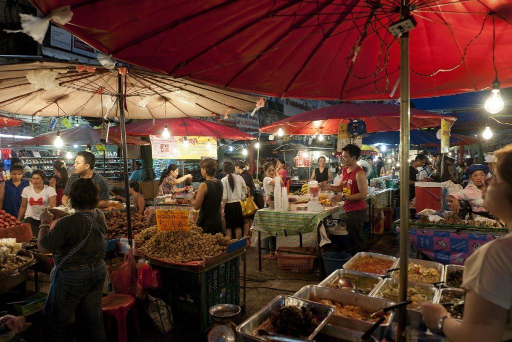 Chiang Mai night bazaar, Thailand