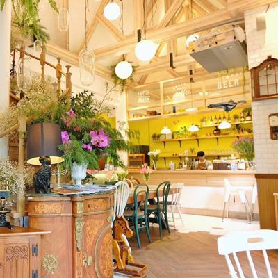 Interior View of Café - Chiang Mai's Most Insta-worthy Cafés