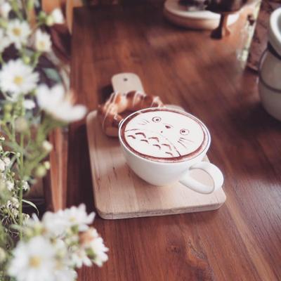 Cute Coffee Art - Chiang Mai's Most Insta-worthy Cafés