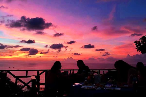 Sunset at After Beach Bar